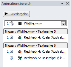 Animationsliste
