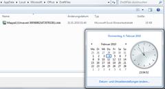 Ungespeicherte Dateikopie in Excel 2010 (Beta)  innerhalb 4-Tage-Frist