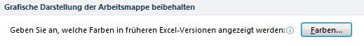 Datei Excel-Optionen Speichern