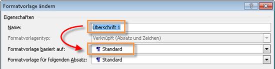 Word_2010_Formatvorlage_Standard_als_Basis
