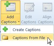 Untertitel leicht exportieren oder importieren